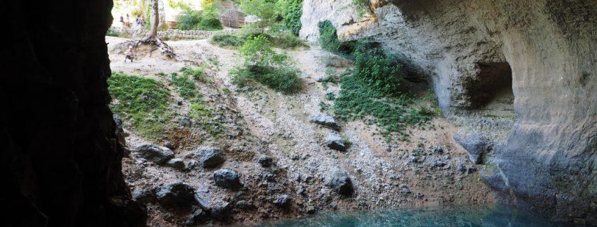 visite de Fontaine de Vaucluse