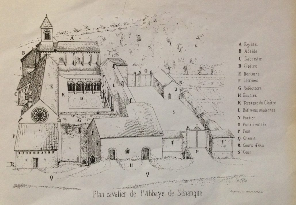 abbaye sénanque gordes vaucluse provence