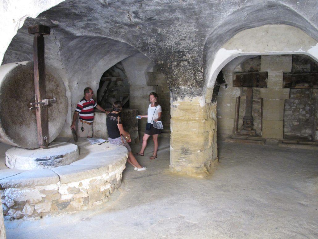 moulin à huile barroux provence vaucluse visite guide