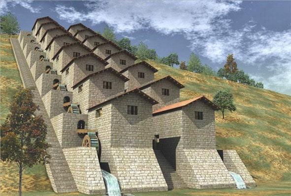 moulins meunerie antiquité barbegal fontvieille visite guide provence vaucluse